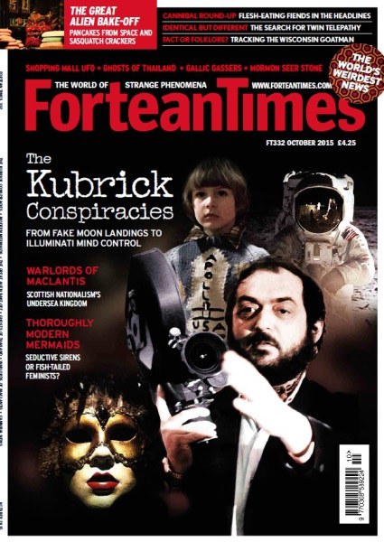Fortean Times October 2015 issue featuring Goatman