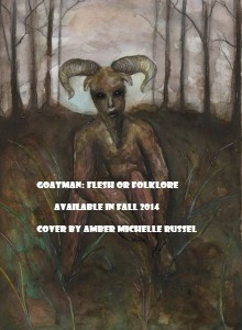 Goatman book cover art by Amber Michelle Russel